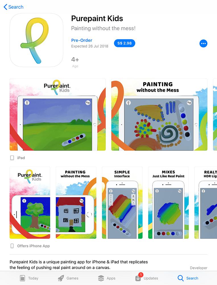 Purepaint Kids Appstore Screenshots